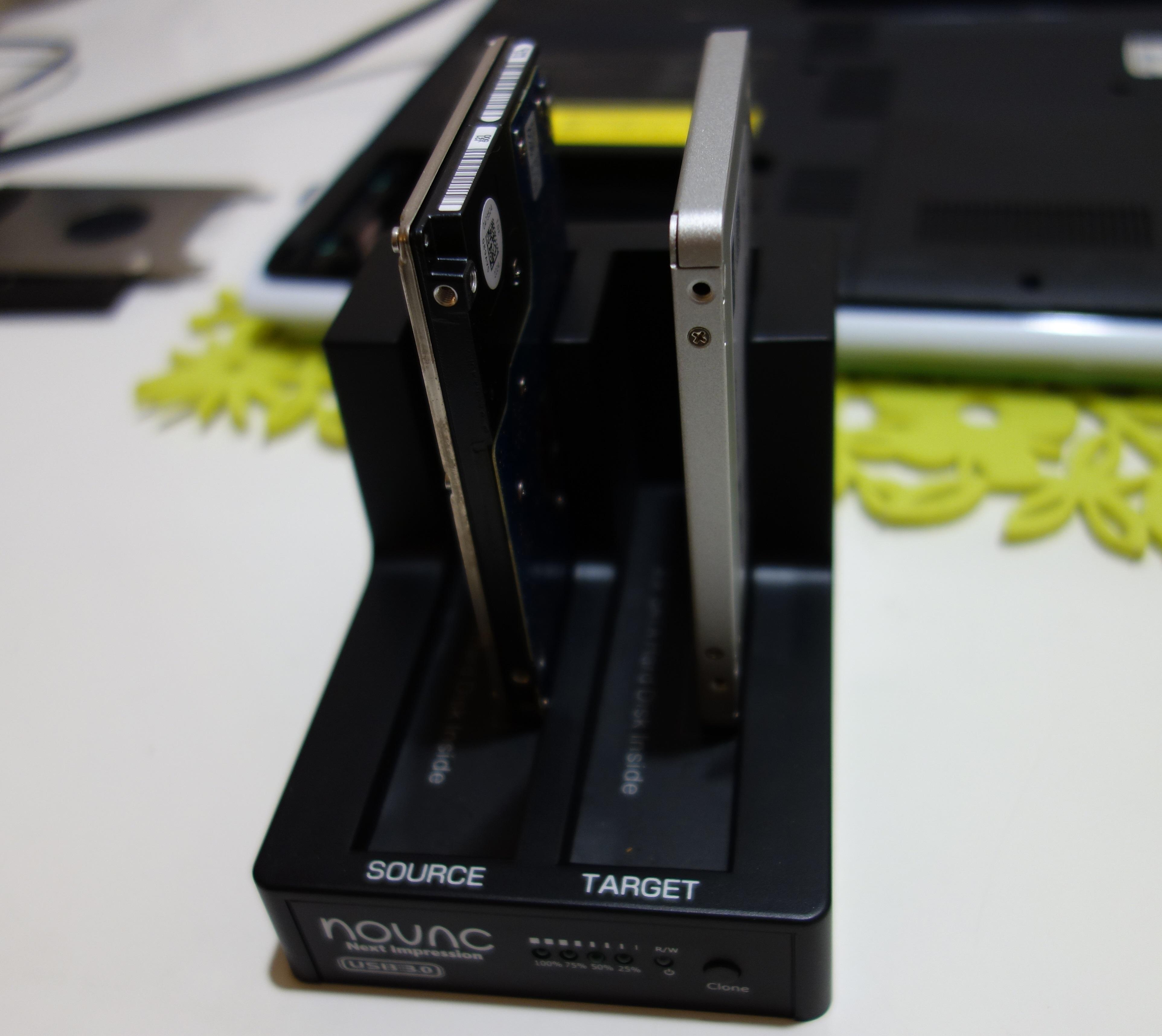 HDDからSSDに交換