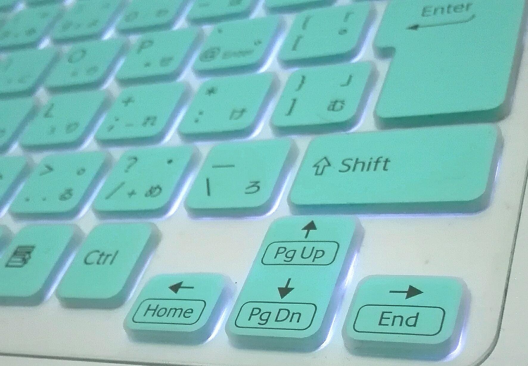 キーボードのEndボタン