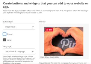 Wordpressサイト上でピンタレストの保存ボタンを表示する方法